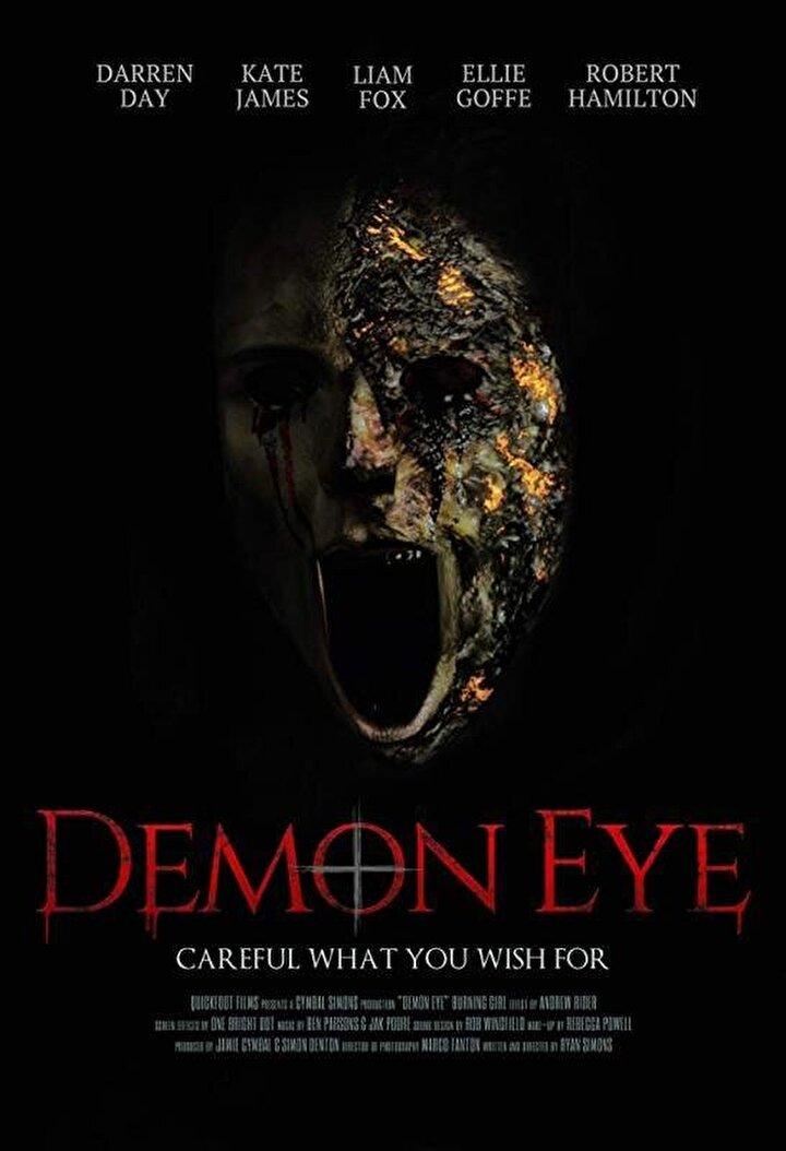 Şeytan Göz - Ryan Simonsun yönettiği; Darren Day, Liam Fox, Kate James, Ellie Goffe, Jimmy Allen ve Alannah Marienin oynadığı Şeytan Göz, haftanın tek yabancı korku filmi olarak izleyici ile buluşacak.