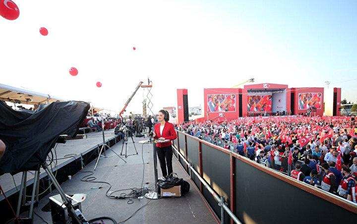 İstanbulda 15 Temmuz ve Milli Birlik Günü Buluşması