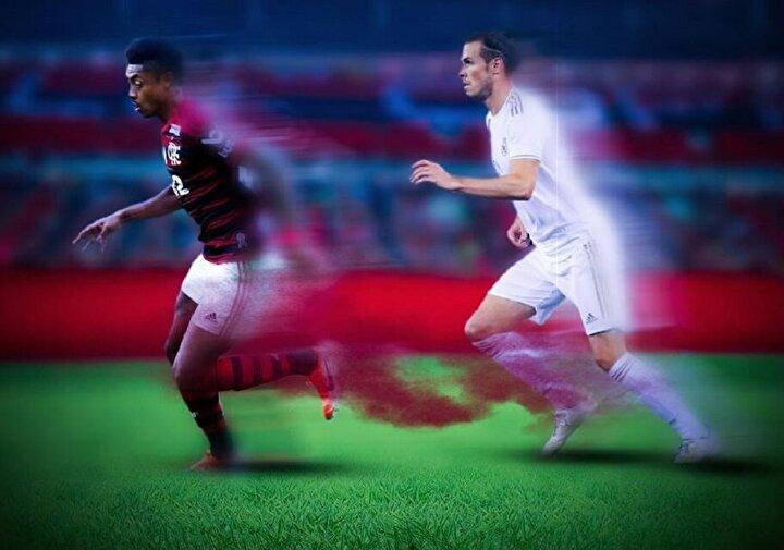 Brezilya'nın Flamengo takımında forma giyen 29 yaşındaki Bruno Henrique, Real Madrid'in Galli forveti Gareth Bale'in hız rekorunu tarihe gömdü.