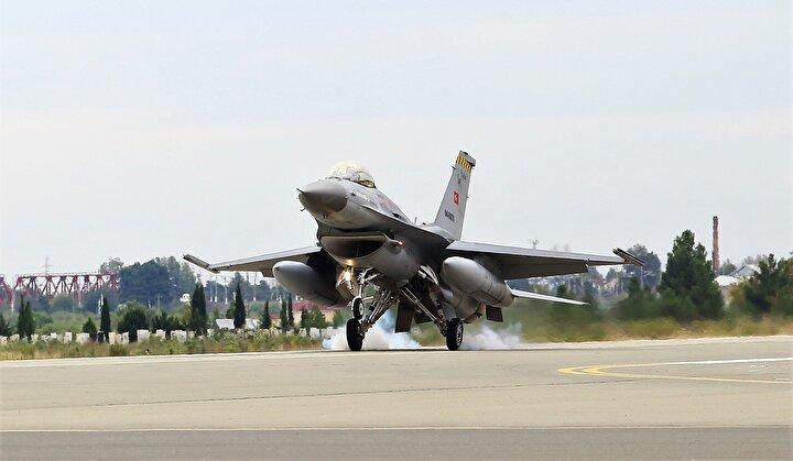 Pakistan Hava Kuvvetleri temsilcilerinin de gözlemci olarak yer aldığı tatbikat 16 Eylüle kadar sürecek.