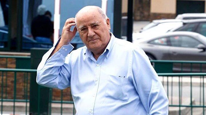 Amancio Ortega / Toplam net değer: 68.5 milyar dolar, Sektör: Perakende