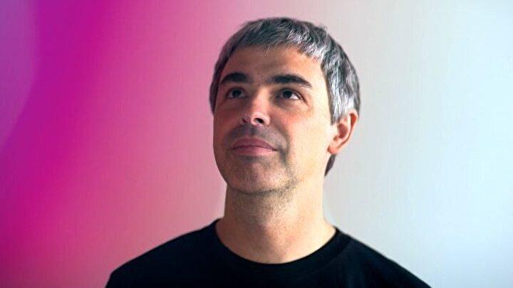 Larry Page / Toplam net değer: 58.5 milyar dolar, Sektör: Teknoloji