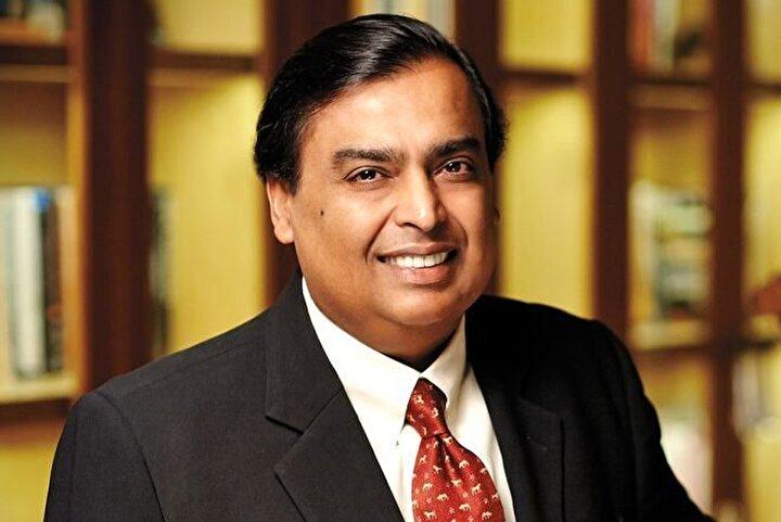 Mukesh Ambani / Toplam net değer: 47.4 milyar dolar, Sektör: Enerji