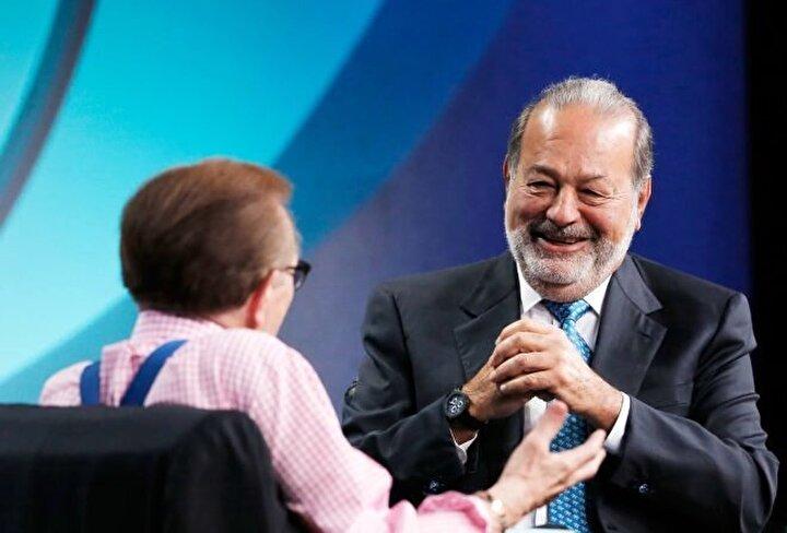 Carlos Slim / Toplam net değer: 53.9 milyar dolar, Sektör: Telekomünikasyon