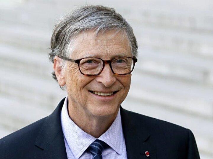Bill Gates / Toplam net değer: 107 milyar dolar, Sektör: Teknoloji