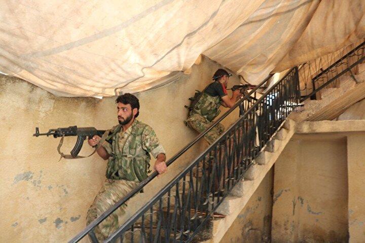 Teröristlerin sözde karargahlarındaki detaylar dikkat çekti