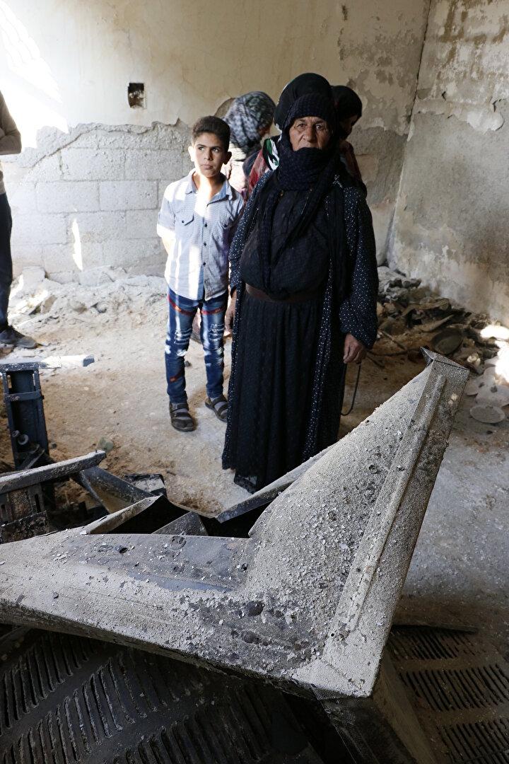 Tel Abyadlılar yanan evlerinin üzüntüsünü yaşıyor