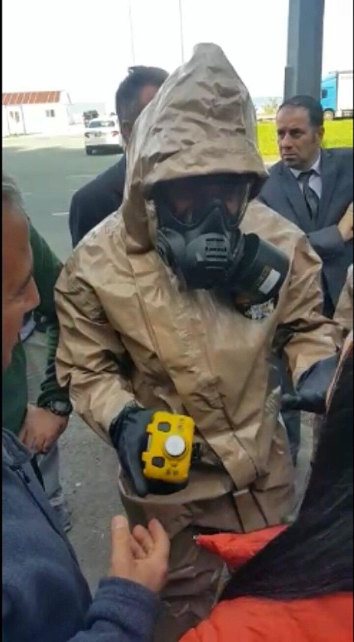 Rizede merkeze bağlı Bozkale Mahallesinde yeraltından buhar çıktığını görenler durumu İl Afet ve Acil Durum (AFAD) ve Sağlık ile Çevre ve Şehircilik Müdürlüğü ekiplerine bildirdi.