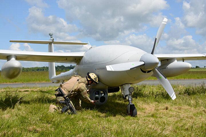 Türkiyenin her geçen gün yeni başarılara imza attığı insansız hava aracı alanında Fransa da kolları sıvadı.