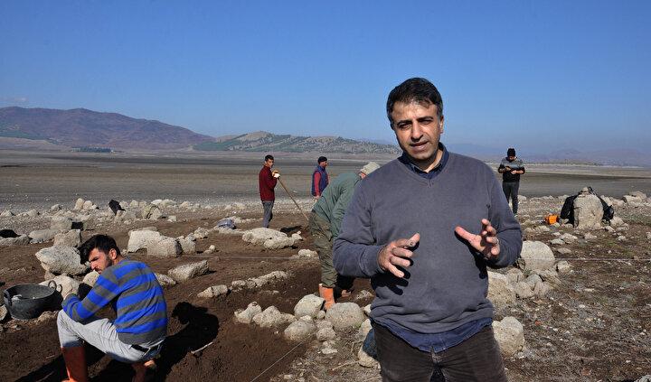Höyüğün gün yüzüne çıkmasının ardından bölgede arkeoloji çalışması başlatıldı.