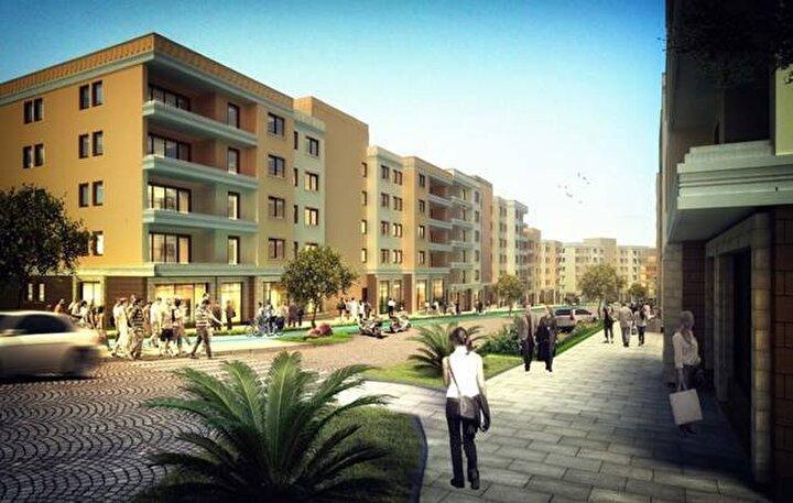2 1 konutlar 140-180 bin, 3 1 konutlar ise 160-210 bin lira fiyat aralığında satışa sunulacak. 2 1 evler brüt 75 ve 85 metrekare, 3 1 evler ise brüt 100 metrekare olacak şekilde projelendirilecek.