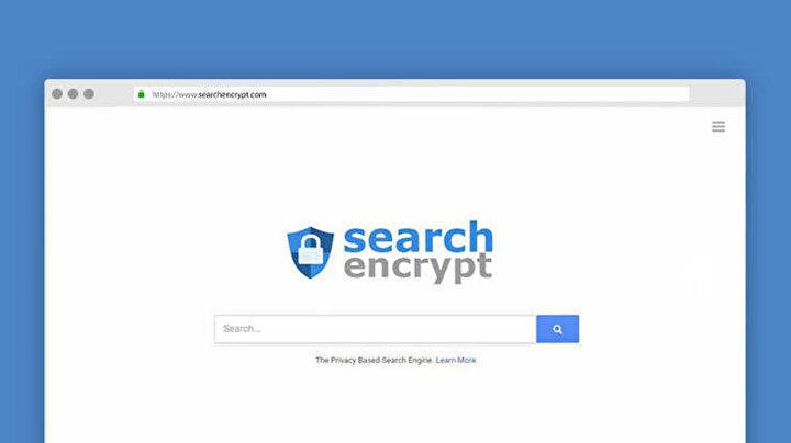 Search Encrypt, gizliliği ön plana çıkaran ve çevrimiçi etkinliklerinizin güvende kalmasını sağlayan bir meta arama motorudur.   Web sitesi, aramalarınızı güvence altına almak için yerel şifrelemeyi kullandığından, kullanıcılar hakkında tanımlanabilir hiçbir bilgiyi takip etmediğini iddia ediyor.   Arama sonuçları daha farklı arama ortakları ağından alınır. Search Encrypt, Google'a nispeten alternatif bir yöntemdir. Ayrıca kişiselleştirilmiş aramaların filtre balonunu önlemek için elinden gelenin en iyisini yapar. Her gün 23 milyondan fazla ziyaretçiye sahiptir.   Bu alternatif arama motorunun en göze çarpan özelliği, yerel tarama geçmişinizin otomatik olarak sona ermesi ve 15 dakikada bir işlem yapılmadığında silinmesidir. Bu nedenle, başka birinin bilgisayarınıza erişimi olsa bile endişelenmenize gerek yok.