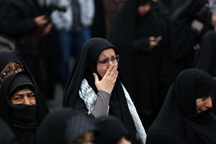 """Hizbullah Genel Sekreteri Hasan Nasrallah, Kasım Süleymani için """"intikam vaadinde"""" bulundu."""