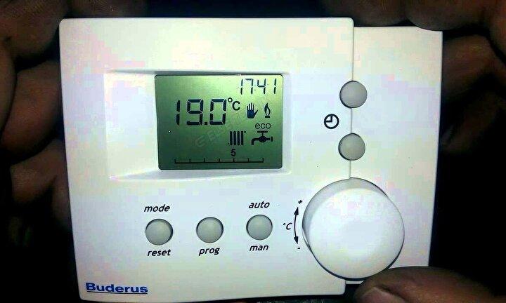 Termostatı 1 derece düşük sıcaklığa ayarlayarak, faturadan yaklaşık yüzde 5 tasarruf yapabiliriz.