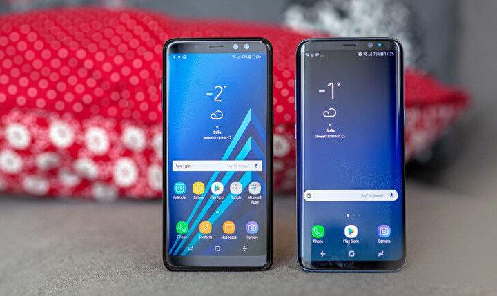 Samsung Galaxy A8 plus  2 bin 208 TL.