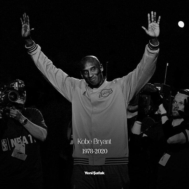 Basketbolun efsane ismi Kobe Bryantın ölümünün ardından spor dünyası yasa boğuldu. İşte yapılan o paylaşımlar;