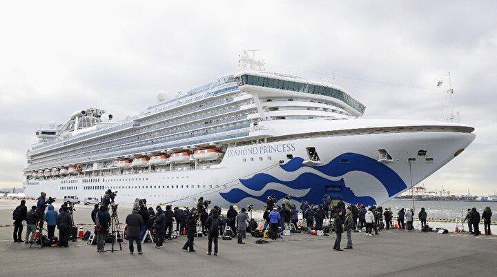 41 hastadan 21'inin Japon vatandaşı olduğu belirtilirken, diğer hasta yolcuların ise uyruğu açıklanmadı. Böylece gemideki hasta sayısı 61'e yükselirken, Japonya'daki toplam vaka sayısı da 86 oldu.