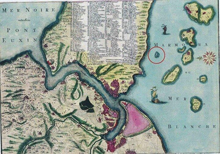 İstanbulu tasvir etmek için 1200 yıl kadar önce çizilen haritalarda Prens Takım Adalarının kıyıya en yakını olarak tasvir edilen ve Vordonisi olarak bilinen 2 ada, günümüzde görülmediği için gizemini koruyor.