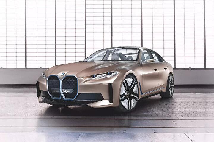 Tesla Model 3 ile rekabet için geliştirildiği ifade edilen otomobilin üretime yakın konsept hali ile sergilenmesi ile birlikte, markanın 23 yıl sonra logo değişikliğine de gittiği ortaya çıktı.