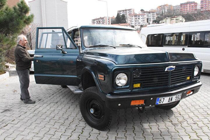 Aracım görenlerin ilgisini çekiyor  Kemal Albayrak, AA muhabirine yaptığı açıklamada, 1972de TTKye gelen araçların müessese müdürlüklerine dağıtılarak makam aracı olarak kullanıldığını söyledi.