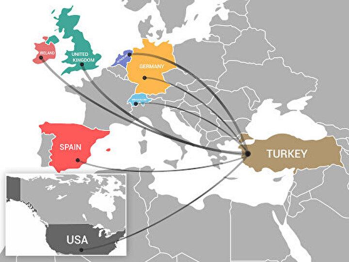 İşte Türkiyenin en fazla ihracat yaptığı ilk 20 ülke: