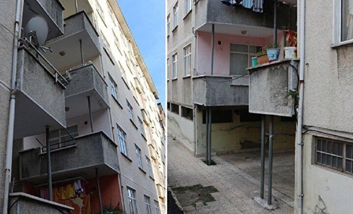 Rizenin Taşlıdere Mahallesinde, deniz dolgusu ve heyelanlı tabaka üzerine yaklaşık 30 yıl önce inşa edilen 72 daireli 3 blok ile yanlarında yer alan 6 katlı 24 daireli bir başka binanın zemininde kayma meydana geldi. Kayma nedeniyle yan yatmaya başlayan binalar, bölgede Pisa kuleleri diye anılmaya başlandı. Gün geçtikçe binalardaki eğim artarken, 24 daireli bina ile bitişiğindeki bina arasında boşluk oluştu. Yüzde 6 dolayında eğim olduğu belirlenen yapılar, sahipleri tarafından demir direklerle güçlendirilmeye çalışılıyor. Kentsel dönüşüm projesi kapsamında yıkımı gündeme gelen binalarla ilgili henüz bir adım atılmadı.