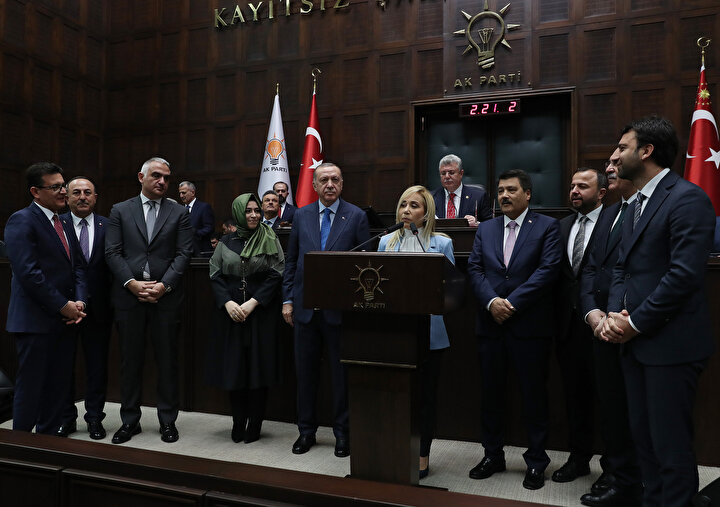 Antalya Milletvekili Tuba Vural Çokal, AK Partiye katıldı.