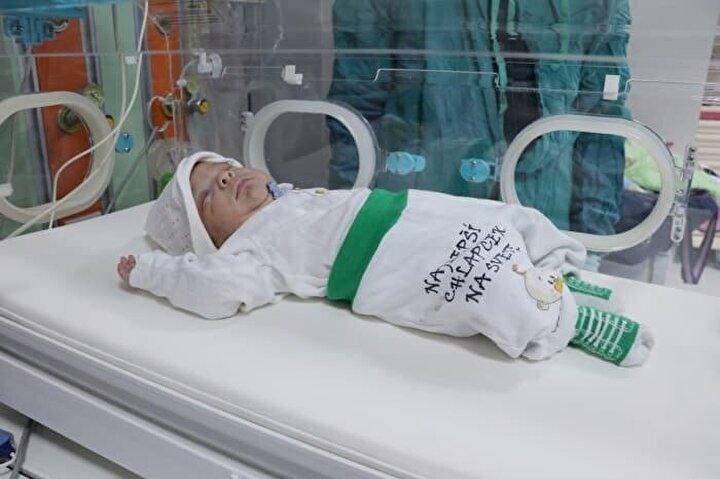 Anne Yeliz Demir de doğum sonrası kaygılı ve endişeli bir sürecin ardından mutlu sona ulaştıklarını belirtti.