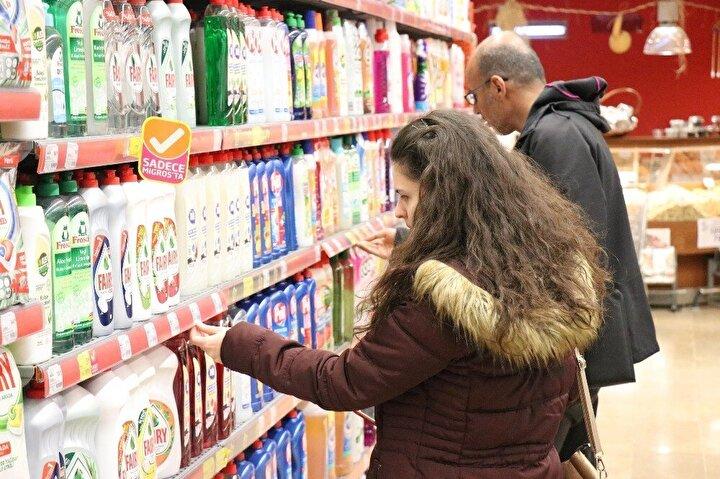 Ekiplerin yaptıkları incelemelerde marketlerdeki ürünlerde yeni fiyat düzenlemelerinin yapılmadığı görüldü.