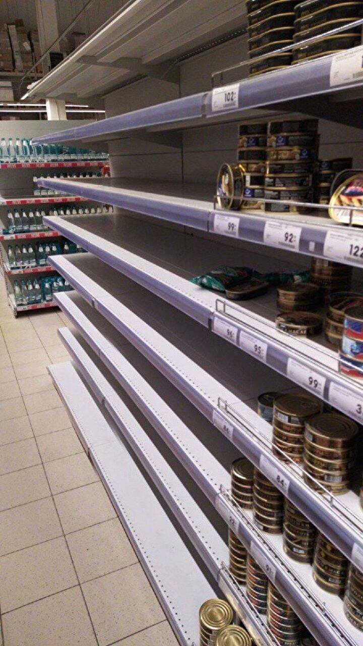 Rusya hükumeti tarafından 4 milyar dolar düzeyinde bir önlem paketi hazırlanırken gıda ürünlerinin yetersiz kalması nedeniyle ek önlemler alınacağı öğrenildi.