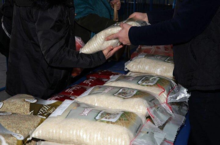 Pirinçte yeterlilik oranı yüzde 69,2 oldu.