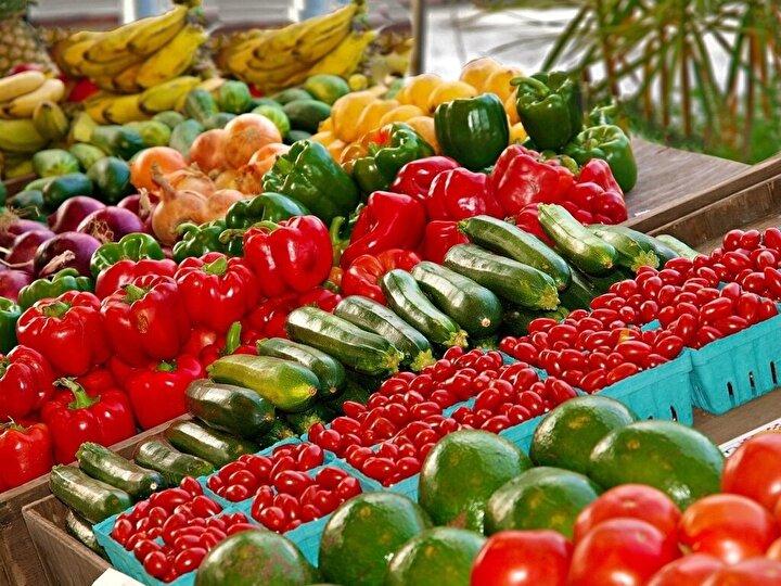 Toplam sebze ürünlerinde, 2018-2019 piyasa döneminde yurt içi üretimin, yurt içi talebi karşılama derecesi yüzde 106,4 oldu.