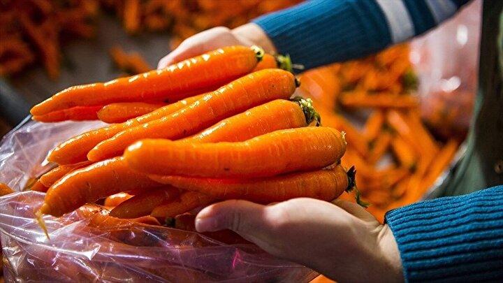 Sebzelerde en yüksek yeterlilik derecesi havuçta yüzde 113,8 oldu.