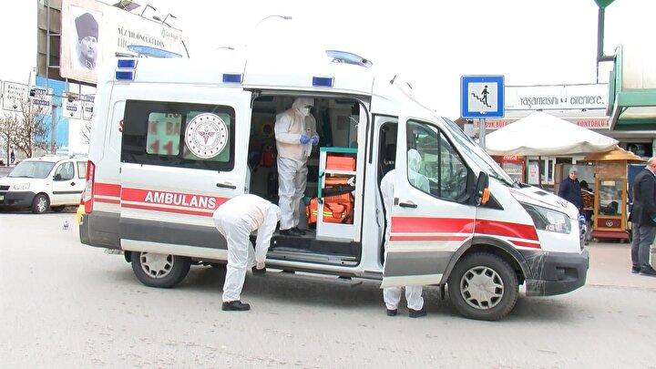 Koronavirüs salgını nedeniyle paniğe kapılan vatandaşlar, polis ve sağlık ekiplerine ihbarda bulundu.