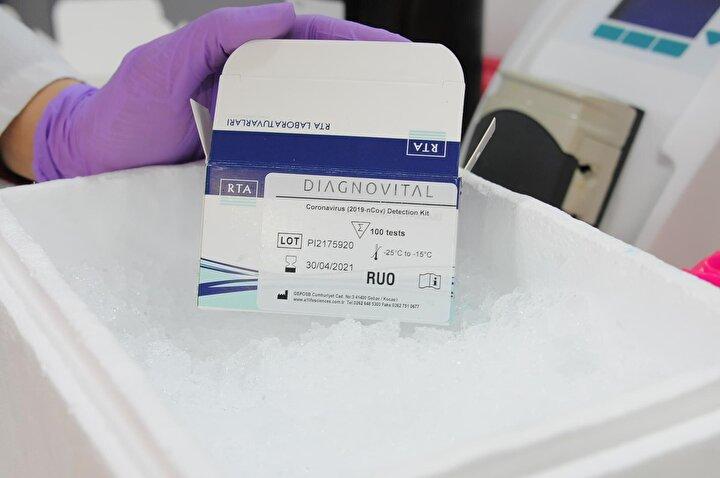 Koronavirüs kiti geliştirdi, 10 ülkeye ihraç ediyor