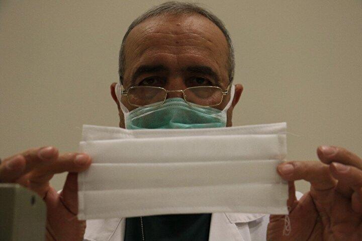 Cerrahi maskelerin ise dikim sonrası sterilizasyon işlemine tabi tutularak steril edildikten sonra paketlenip çalışanların hizmetine sunulduğu belirtildi.