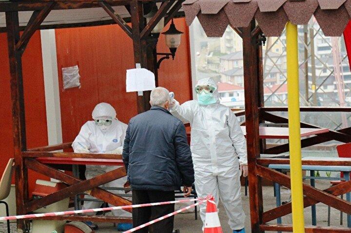 Koronavirüs tedbirleri kapsamında kente daha önce Yunanistandan 39, Kolombiyadan 10, İsveçten 23, Fransadan 138 kişi getirilmişti.