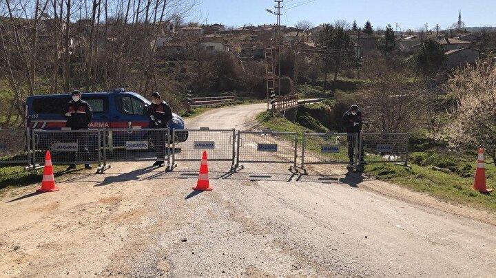 Öte yandan, karantina kararının çıkmasının ardından Pınarhisar Belediyesi ekipleri köye gelerek dezenfekte çalışması yaptı.