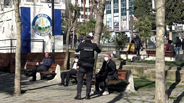 Polis ekipleri denetimlerini artırırken, vatandaşlardan evlerine geri dönmelerini istedi.