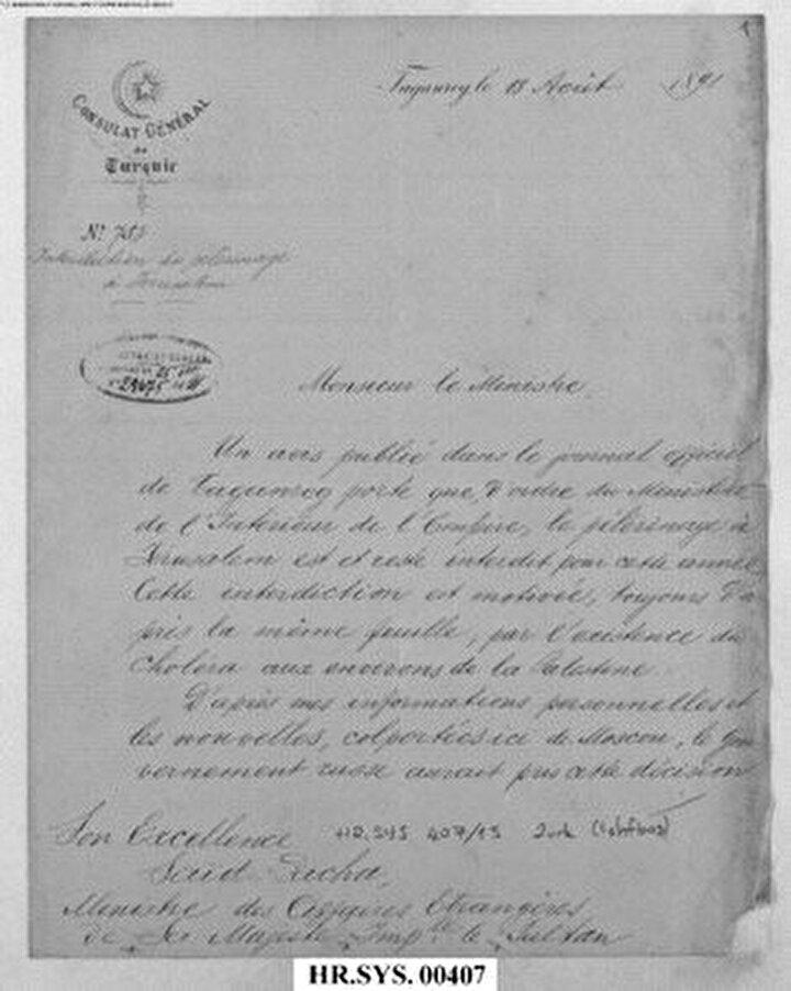 Cumhurbaşkanlığı Devlet Arşivlerinde yer alan belgelere göre, 1847-1848 ila 1892-1895teOsmanlının başkenti İstanbulda ve diğer vilayetlerinde görülen, halkı korku ve endişeye sürükleyen kolera salgını ülkeyi yangın yerine çevirdi.