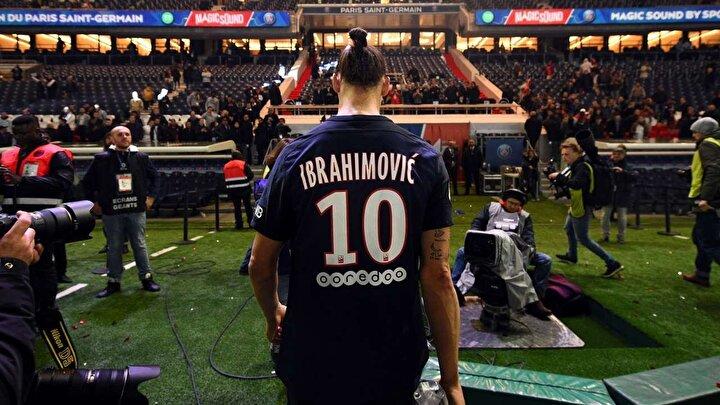 Eski Paris Saint-Germainli Zlatan Ibrahimovic ise ankette 2. sırada yer aldı.