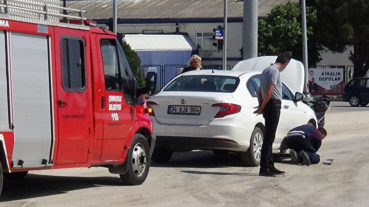 Otomobil sürücüsü Gökhan Topay, Kediyi emin ellere teslim ettik diyerek, görevlilere teşekkür ettikten sonra otomobiline binerek olay yerinden ayrıldı.