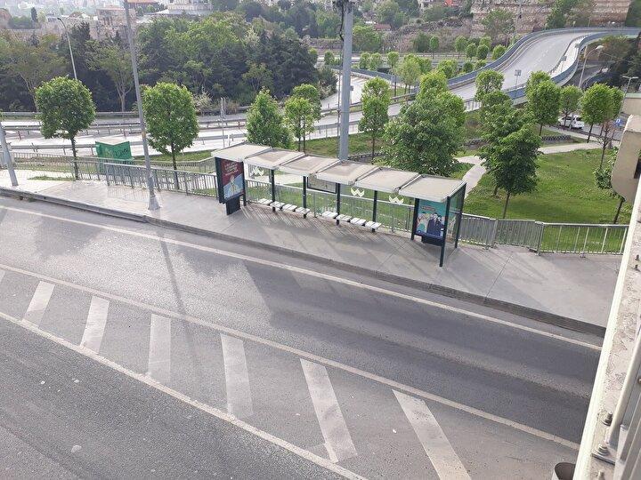 Kentte hafta içi yoğunluk yaşanan D100 Karayolu ile 15 Temmuz Şehitler Köprüsünde de yoğunluk yaşanmadı.