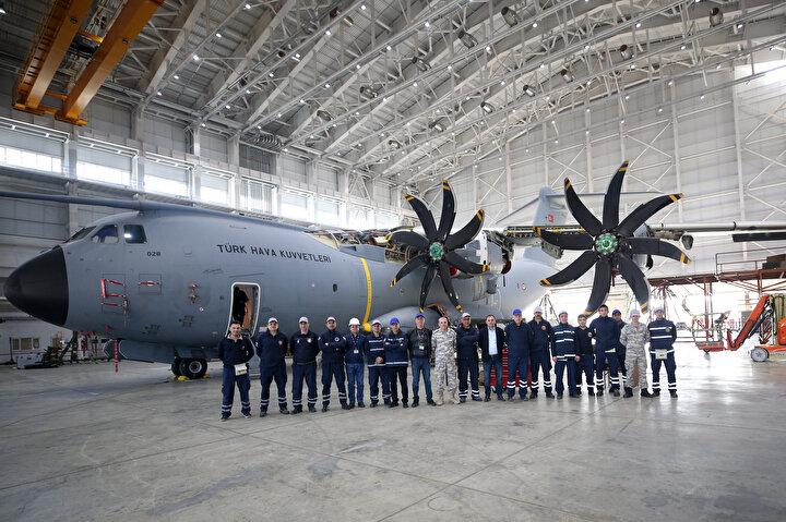 Kayseri 12. Hava Ulaştırma Üs Komutanlığında konuşlandırılan ve Hava Kuvvetlerinin gücüne güç katan uçan kalelerin bakımlarını yapabilme kabiliyetine sahip olan fabrika, yıl sonu itibariyle retrofit (bakım-onarım-iyileştirme) işlemini de hem Türkiye envanterindeki hem de dünyadaki diğer A400Mlere yine Airbus dışında uygulayabilen tek ülke olacak.