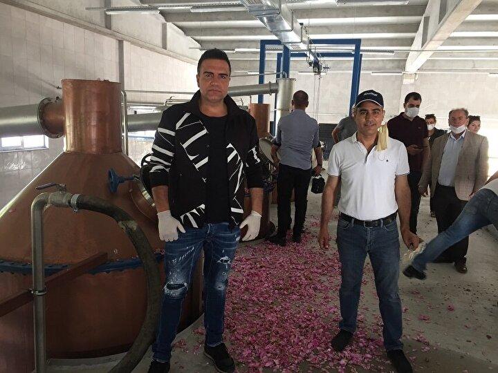 Mardinde ilk defa gül ve lavanta ürünleri üzerine bir fabrikanın kurulduğunu anlatan Mardini, şunları söyledi: