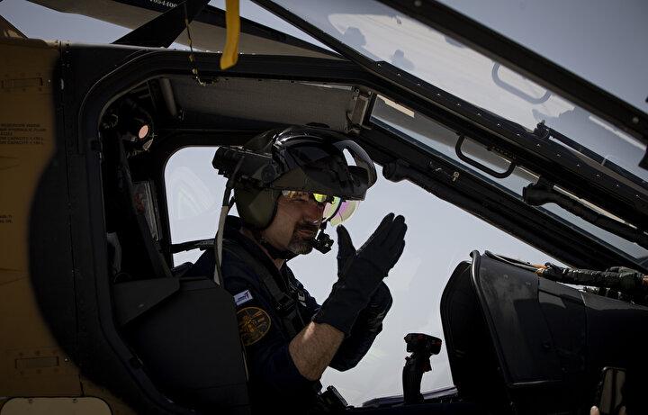 Güçlenen Atak helikopterinden 19 Mayısa özel uçuş