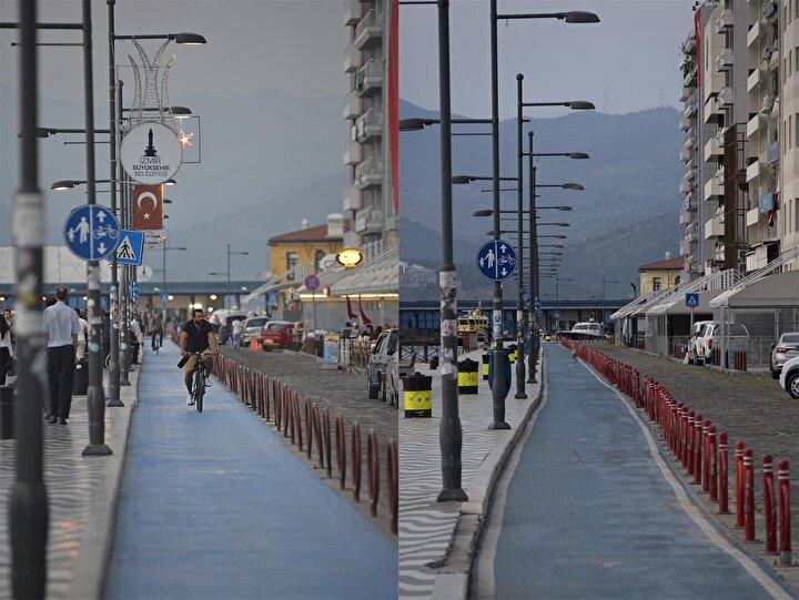 Polis memurunun objektifinden İzmirin en kalabalık ve en boş halleri