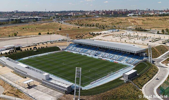 Maçlarını Santiago Barnabeu yerine tesislerdeki Alfredo di Stefano Stadı'nda oynayacaklar.