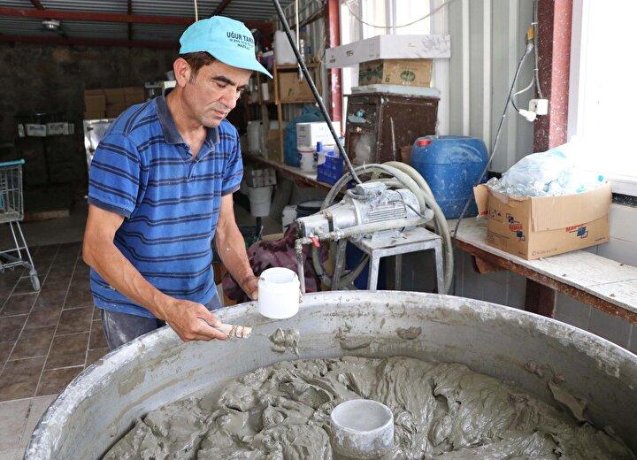 Sarayköyün çamuru, sağlık ve kozmetik sektörü için yurt dışına gönderiliyor
