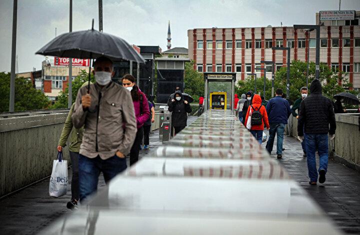 İstanbulda olumsuz hava şartları etkili oluyor